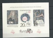 1986 MNH Tschechoslowakei Mi block 67B