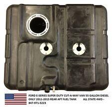 Ford Van Super Duty Cut-A-Way55 Gallon Diesel Plastic Fuel Tank E-Series 2011-15