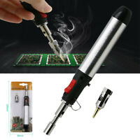 Gas Blow Torch Solder Iron Tool Butane Cordless Welding Pen Burner Portable