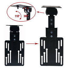 Adjustable LCD LED TV Monitor Mount Under Cabinet 15 19 21 22 24 Flat Screen MB0