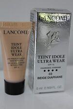 LANCOME Ultra Wear SPF 15 Coverage - Shade 03 Beige Diaphane - 5mL Sample
