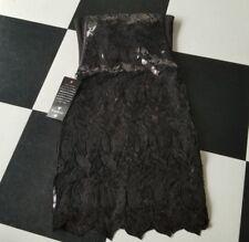 bebe rare dress sequin black size small