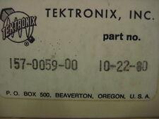Tektronix 6AU6A Tube set of (2) Tubes, 157-0059-00 made in USA by GE Guaranteed.