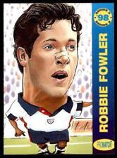 England Original Single Soccer Trading Cards