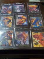 1994 Fleer Ultra X-Men Complete 9 CARD SET  Limited Edition Chase Subset