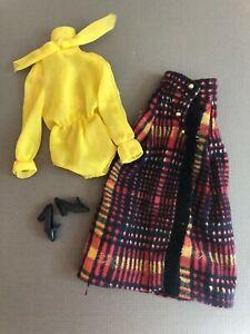#3341 Long N Fringy 1972 MOD VINTAGE Barbie doll outfit mattel