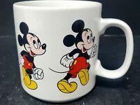 Mickey Mouse Vintage Coffee Mug Cup Marching Sequence Disney 10 oz Korea