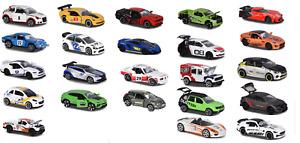 MAJORETTE RACING CARS McLaren/Lamborghini/Opel/Dacia/Subaru/Peugeot/Dodge/Jaguar