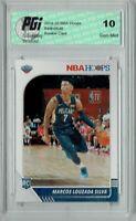 Marcos Louzada Silva 2019 NBA Hoops #250 Gem Mint Rookie Card PGI 10