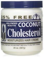 [Hollywood Beauty] Noix de Coco Cholestérol Profond Après-shampooing Crème 591ml