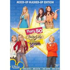 That's so Suite Life of Hannah Montan 0786936729801 With Miley Cyrus DVD