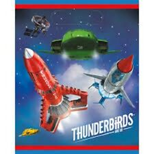 Thunderbirds Party Bags Pack of 12