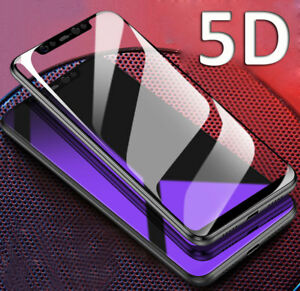 Tempered Glass Screen Protector for Samsung J6 J4 J8/A6Plus 2018 5D 9H Full Film