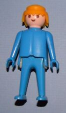 Playmobil 1974 Klicky Man Classic Style Blonde Hair Blue Clothes 36 Playsets