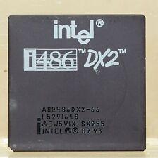 Vintage Intel 486DX2-66 Processor CPU S5R2B5 Gold scrap