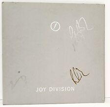 """JOY DIVISION + 3 Signed Autographed Vinyl """"STILL"""" JSA # V77569"""