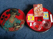 Modiano Collectors Tin Poker Dice Cards Etc