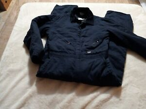 """Walls Blizzard Pruf INSULATED Work Coveralls Jumpsuit Men's Size M R 30"""" Inseam"""