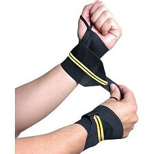 New Gold's Gym Wrist Wraps Protect Your Wrists While Playing Sports