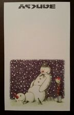 Very Rare BANKSY Rude Snowman Xmas Christmas Card From Santa's Ghetto POW