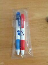 Rangers F.C. Pen Set Retro 2003/4 Home And Away Rare