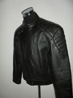 vintage AKITO Motorradjacke Lederjacke 80s motorcycle leather 80`s jacket 58 XL
