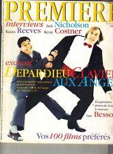 GERARD DEPARDIEU French Premiere Magazine 9/94 JACK NICHOLSON KEANU REEVES
