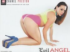 CHANEL PRESTON Rare Evil Angel 8.5x11 Promo Photo! AVN Awards