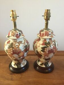 pair of vintage table lamps TESTED WORKING!!!