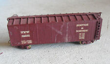 Vintage HO Scale Wood Norfolk & Western N&W 52364 Box Car