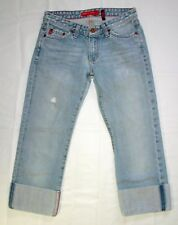 Big Star Trace Capri Jeans Size 27 Womens Low Rise Denim K05