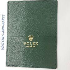 Rolex Green Leather Watch Wallet 101.40.55 GENUINE NEW ORIGINAL