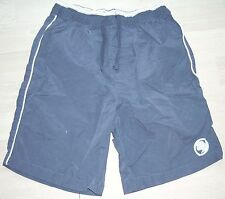 Navy & white shorts age 9-10
