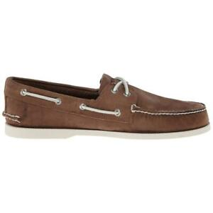 Sperry Top-Sider A/O 2-Eye Mens Sand Boat Shoes