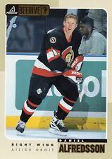 daniel alfredsson ottawa senators 48 card 1997/98 beehive 5x7 jumbo large