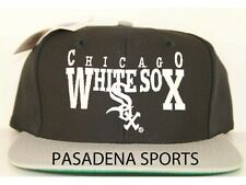 "CHICAGO WHITE SOX VINTAGE 1990's ""EDS WEST"" SNAPBACK CAP NWT mlb"
