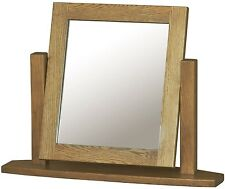 French Solid Oak Furniture Dressing Table Mirror