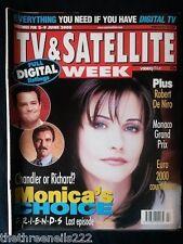 TV & SATELLITE WEEK - COURTNEY COX FRIENDS - 3 JUNE 2000
