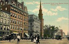 Broad Street South From Market Street, Newark NJ 1913
