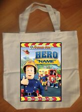 """Fireman Sam Hero"" Personalized Tote Bag - NEW"