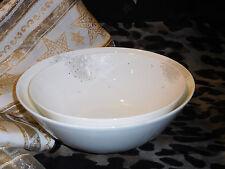 Rosenthal White Curve Dandelion Schüssel - Set 2 tlg. 21 cm + 24 cm Neu 1.Wahl