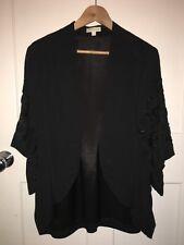 Monsoon Black Sequin Jacket