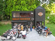 1/24-1/25 SCALE SCRATCHBUILT HARLEY DAVIDSON DIORAMA BUILT BY ADAM GORMAN!!