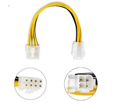 4-pin to 8-pin CPU Power Supply Adapter 20 cm Cable 12v H60