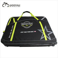 NOOYAH Bicycle Bag Bike Travel Luggage Case Transport Bag w/ 2 Wheels 210L 7kg