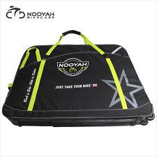 NOOYAH Bicycle Bag Bike Travel Luggage Case Transport Bag w/ 2 Wheels 210L 7kg