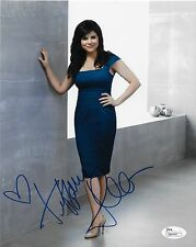 Autographed Tiffany Amber Thiessen signed White Collar 8X10 W/JSA