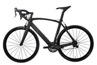 58cm AERO Carbon Bicycle Frame Road Bike Shimano 700C Wheels Clincher V brake