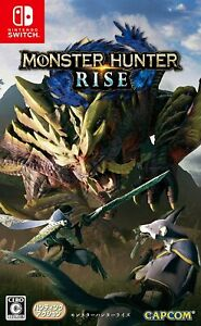 Nintendo switch Monster Hunter Rise Japanese Ver USED from Japan F/S