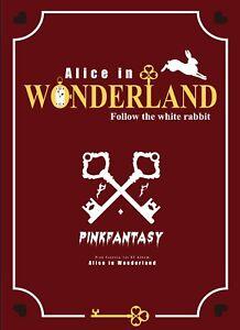 K-POP PINK FANTASY 1st EP [Alice in Wonderland] [ PHOTOBOOK + CD ] Wonderland